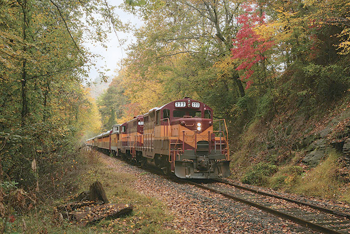Great Smoky Mountains Railroad locomotive